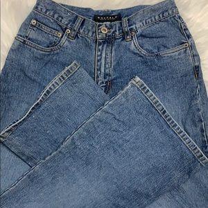 Buffalo David Bitton Sparkle Jeans size 28 flare